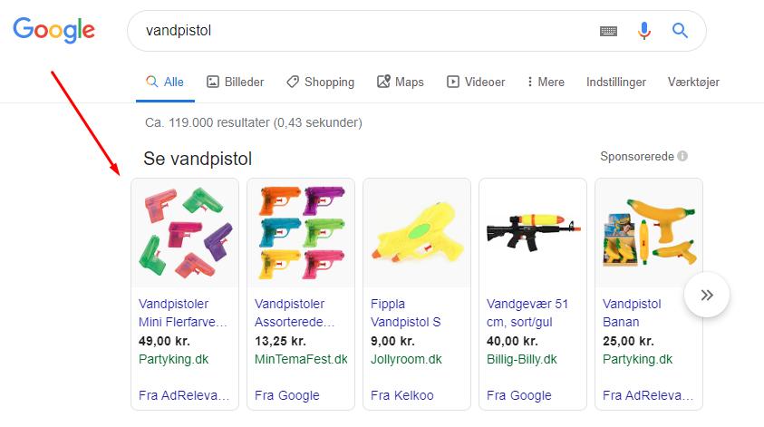 vandpistol-google-ads